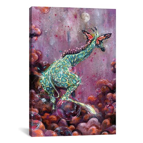 Riff Raffe by Black Ink Art Canvas Print