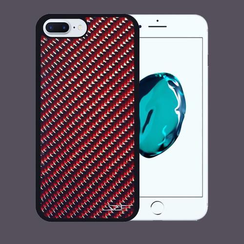 Carbon Fiber iPhone 7 Case   Red   Simply Carbon Fiber