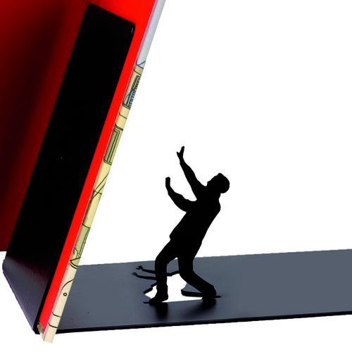 Falling Bookend Artori Bookcase Holders