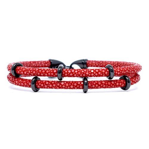 Bracelet | 2x Sting | Red/Black