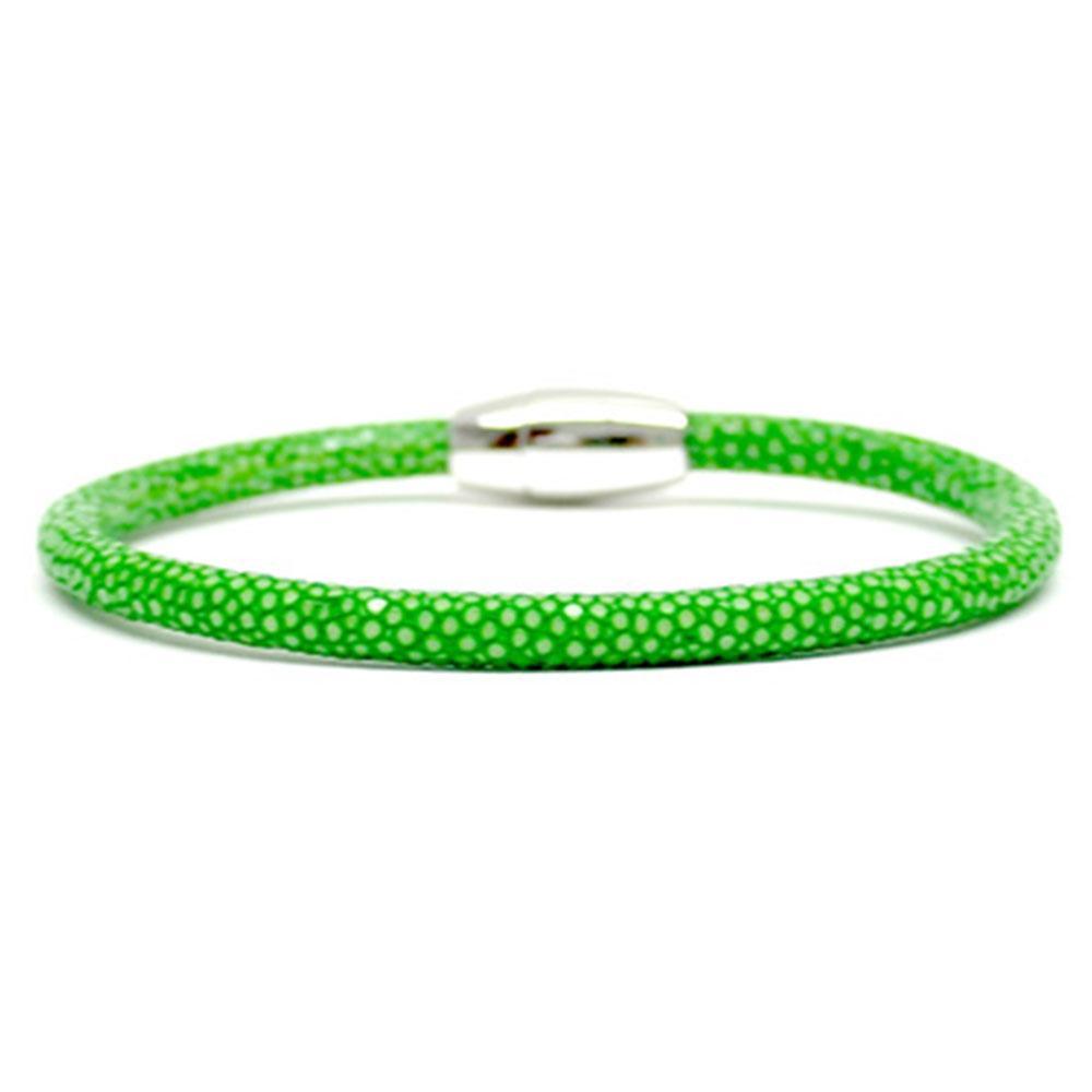 Single Stingray Bracelet | Green | Double Bone