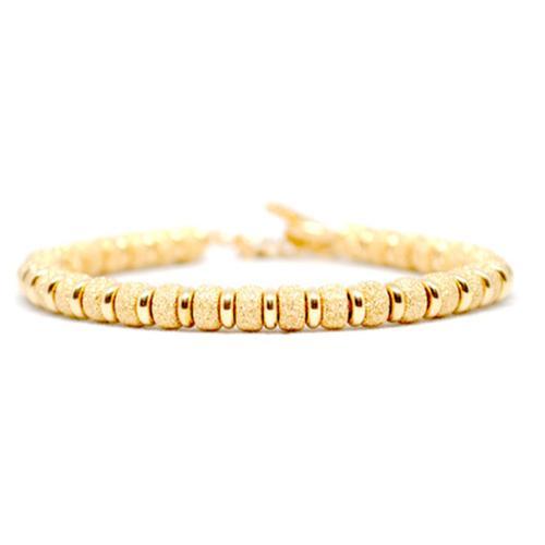 Bracelet | Multi Beads | Gold