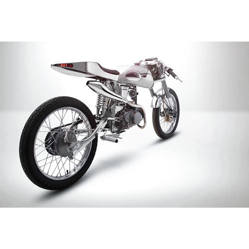 Eden | Chrome | Honda Supersport 125cc | Bandit9 Bikes