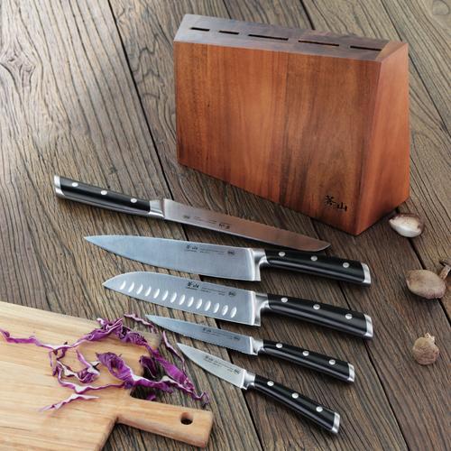 S Series | 6-Piece Set | Acacia Wood Block | Cangshan