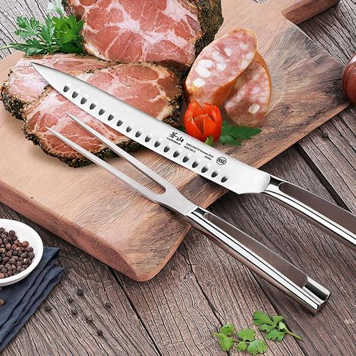 N1 Series 2 piece Carving Set Combo | Cangshan