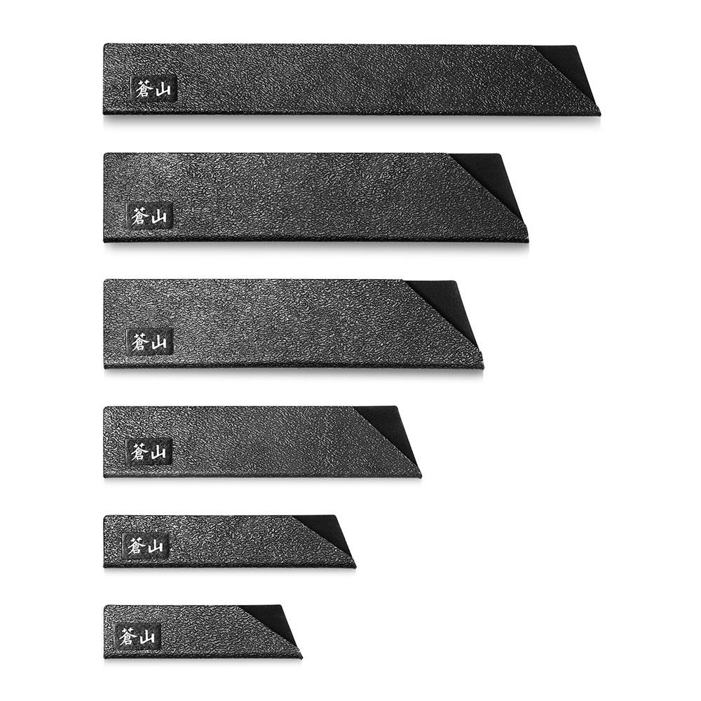 6pc Knife Edge Guard Set-Black   Cangshan