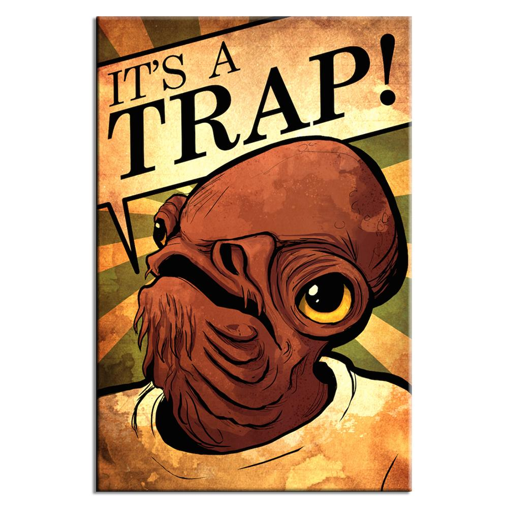 It's A Trap | Lynx Art