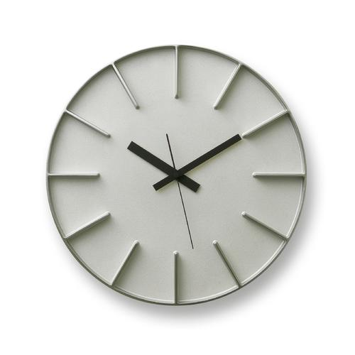 Edge Clock   Aluminum