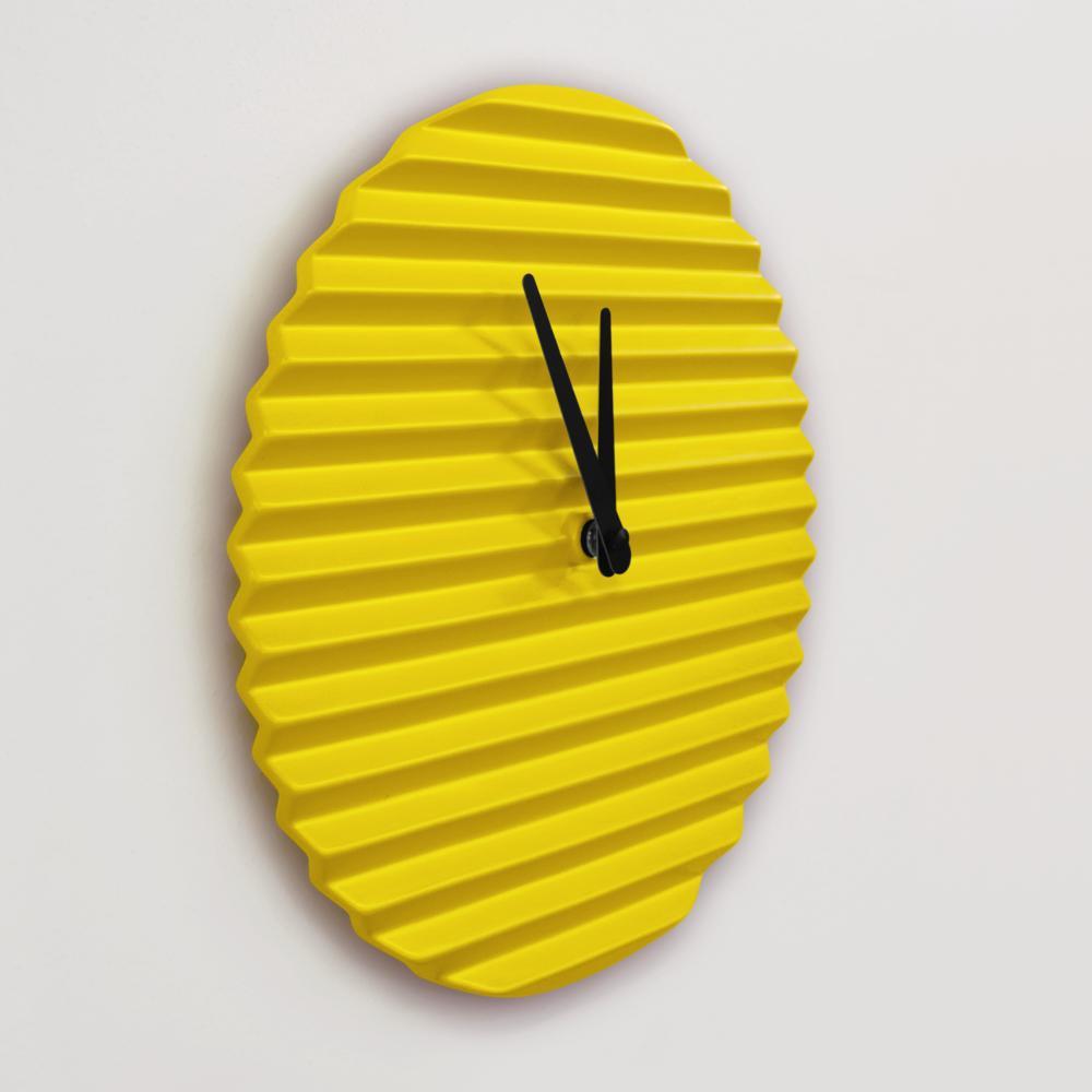 WaveCLOCK   Yellow   Sabrina Fossi