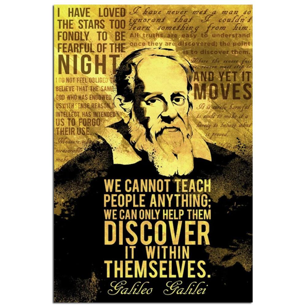 the life discoveries and the impact of the scientific accomplishments of galileo galilei Discover galileo galilei famous and rare quotes share galileo galilei quotations about science, mathematics and earth these are the novelties which are apt to bring about the ruin of commonwealths and the subversion of the state.