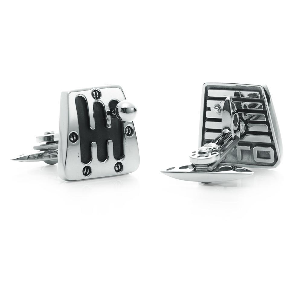 Silver Cambio 60's Cufflinks | GTO London