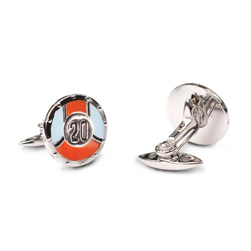 Racing Livery Number 20 Cufflinks