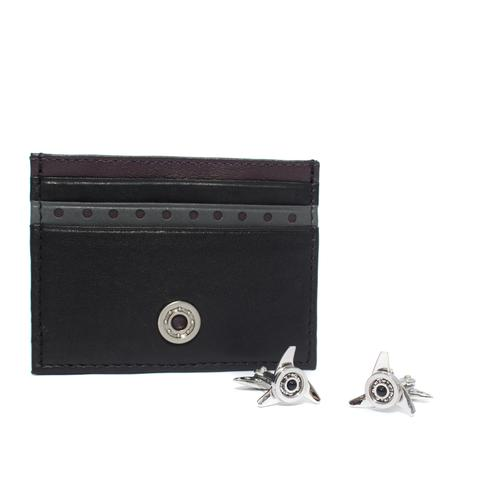 Card Holder / Cufflinks Gift Set | Gallettone
