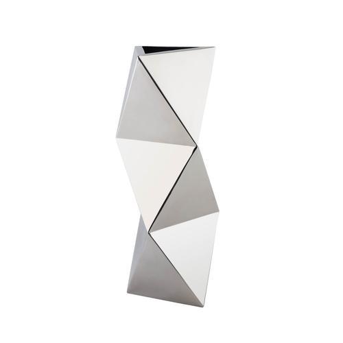 Stainless Steel | Geometric Shapes Vase