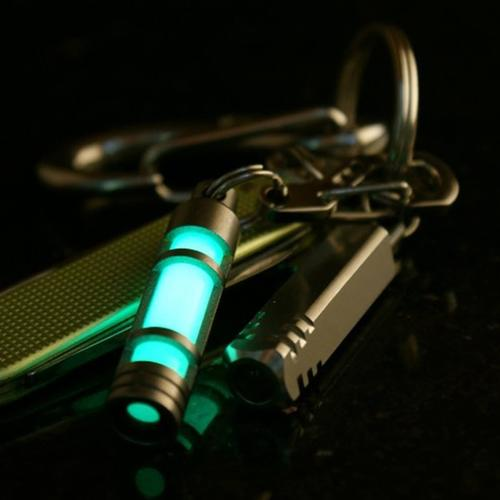 Embrite Glow Fob | Titanium [SET OF 2]