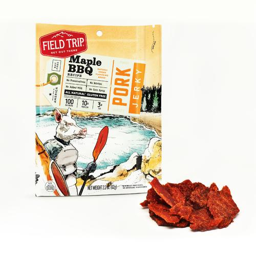 Pork Jerky | Maple BBQ | Set of 9