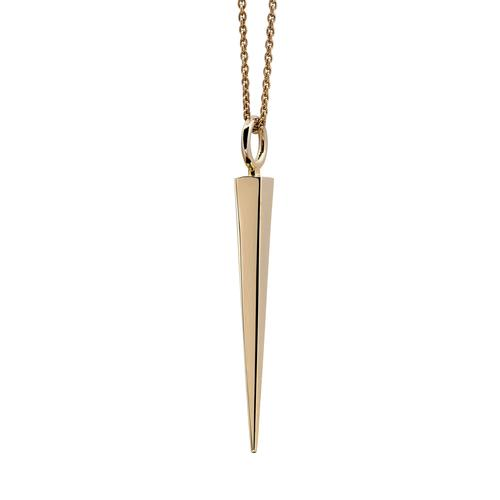 Necklace | Square Spike | Gold