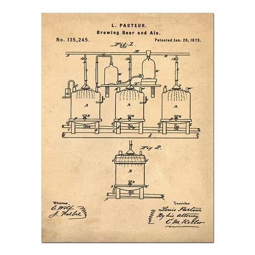 Pasteur-Sepia/Antique   Paper