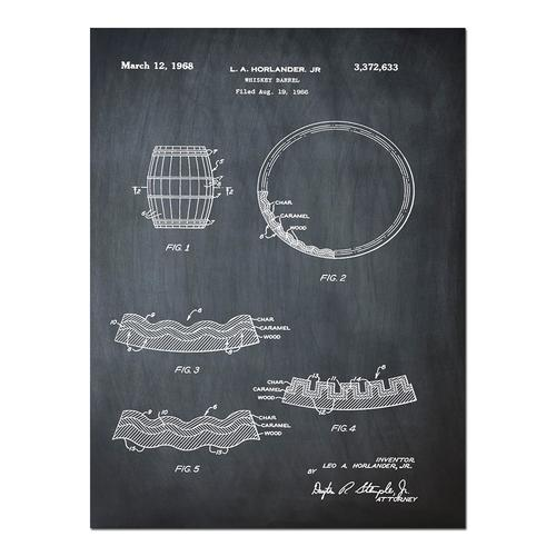 Whiskey Barrell- Chalk   Paper