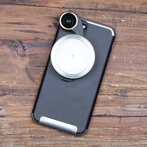 Revolver Lens Camera Kit for iPhone 7 Plus | Silver