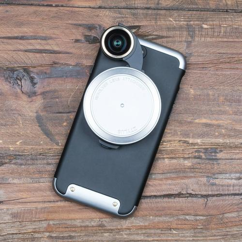 Revolver Lens Camera Kit for iPhone 7 | Silver