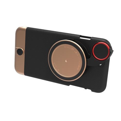 Rose Gold Case for iPhone 6S Plus / 6 Plus  & RV-2 Lens