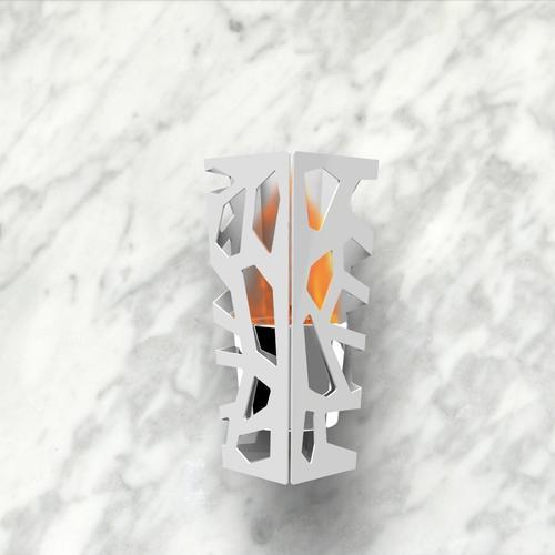 Vibe Sconce Bio Ethanol Wall Mounted Fireburner | Decorpro