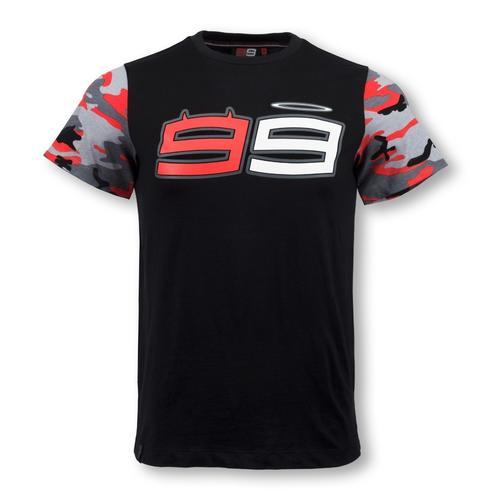 Jorge Lorenzo Camo Sleeves T-shirt