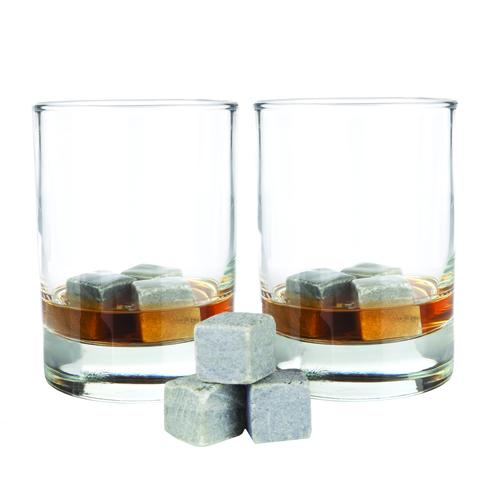 Glacier Rocks Set of Nine Soapstone Cubes | Set of 18