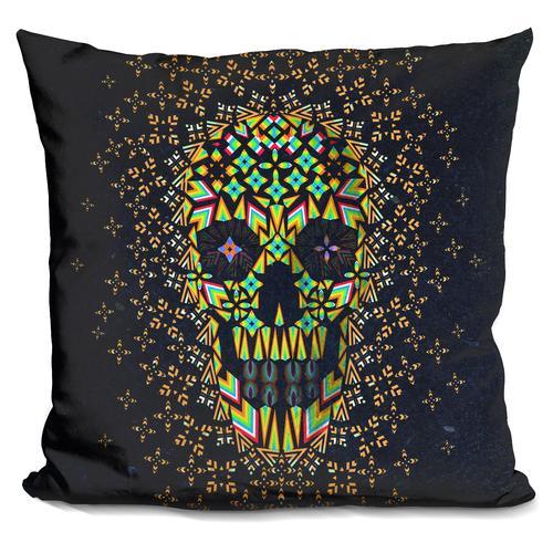 'Skull 6' Throw Pillow