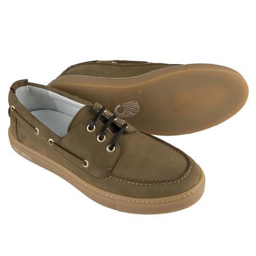 Boat Shoe   GREEN NUBUCK