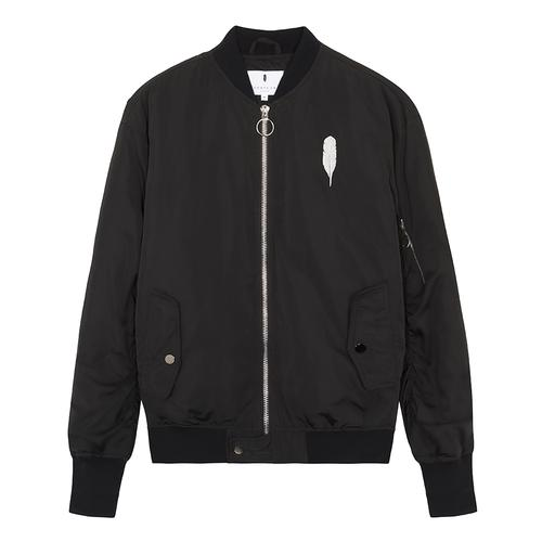 Feather London Bomber | Black