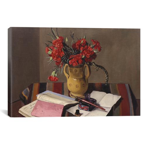 Carnations and Account Books