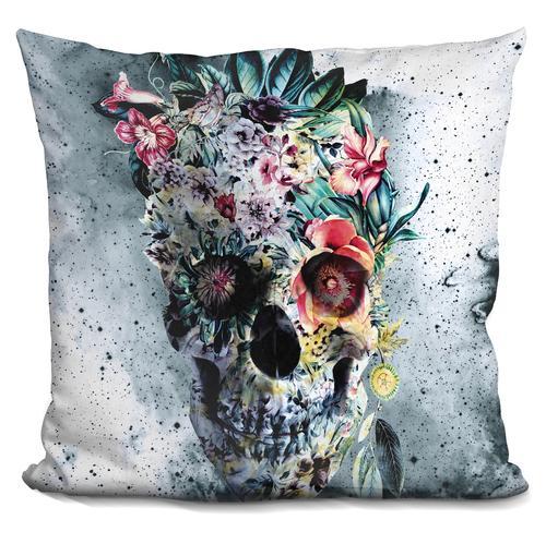 Riza Peker 'Memento te hominem esse' Throw Pillow