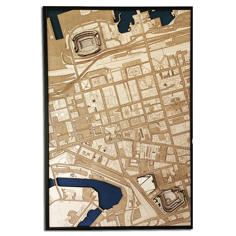 3D Stadium Maps   Cleveland, OH