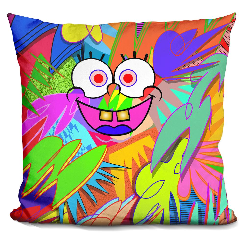Spongebob Squarepants Throw And Pillow Set : SPONGEBOB Technodrome Throw Pillows