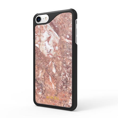 iPhone 7 case   Rosso Verona with Black Border