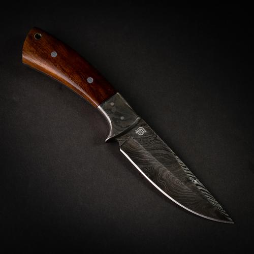 Bolognesi Damascus Steel Hunting Knife
