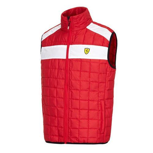 Scuderia Ferrari Padded Gilet Mens