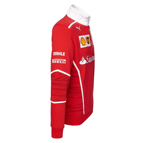 Scuderia Ferrari Team Half Zip Fleece 2017 | Motorstore