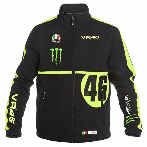 VALENTINO ROSSI MONSTER SOFTSHELL JACKET MENS