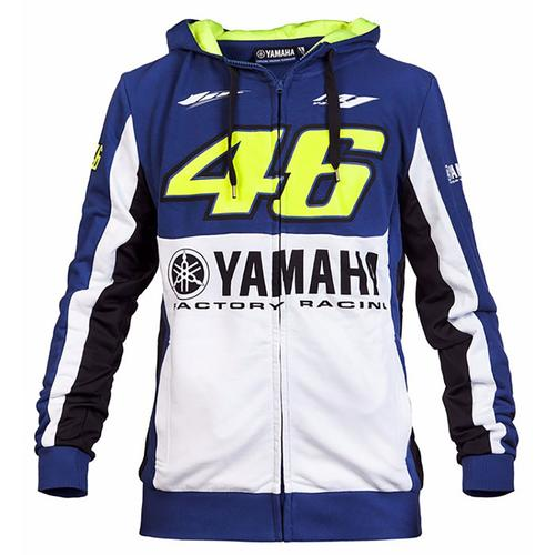 YAMAHA VALENTINO ROSSI ZIP UP HOODIE MENS 2016 REPLICA