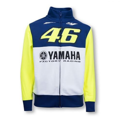 YAMAHA VALENTINO ROSSI ZIP UP HOODIE JUNIOR 2016 REPLICA