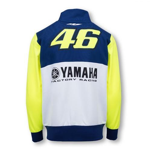 YAMAHA VALENTINO ROSSI ZIP UP HOODIE JUNIOR| Moto GP Apparel