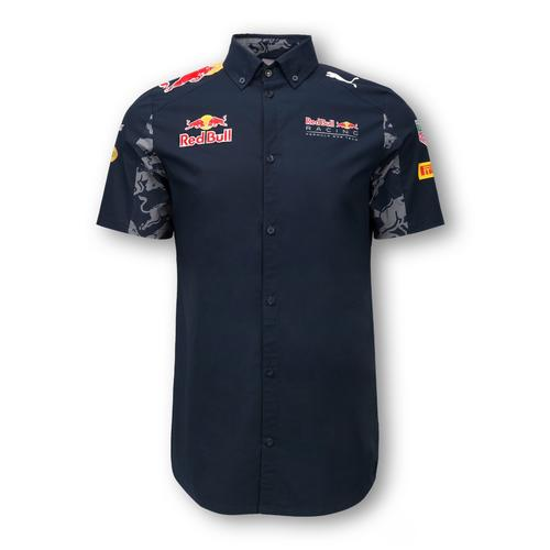 RED BULL RACING TEAM SHIRT MENS 2016 REPLICA