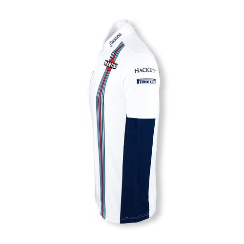 WILLIAMS MARTINI RACING PIQUE POLO  | Motorstore F1 Team