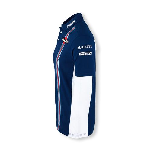 WILLIAMS MARTINI RACING PIQUE POLO SHIRT| Motorstore F1 Team