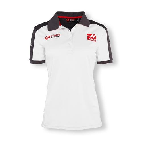 HAAS TEAM POLO SHIRT LADIES 2016 REPLICA | Haas F1 Apparel