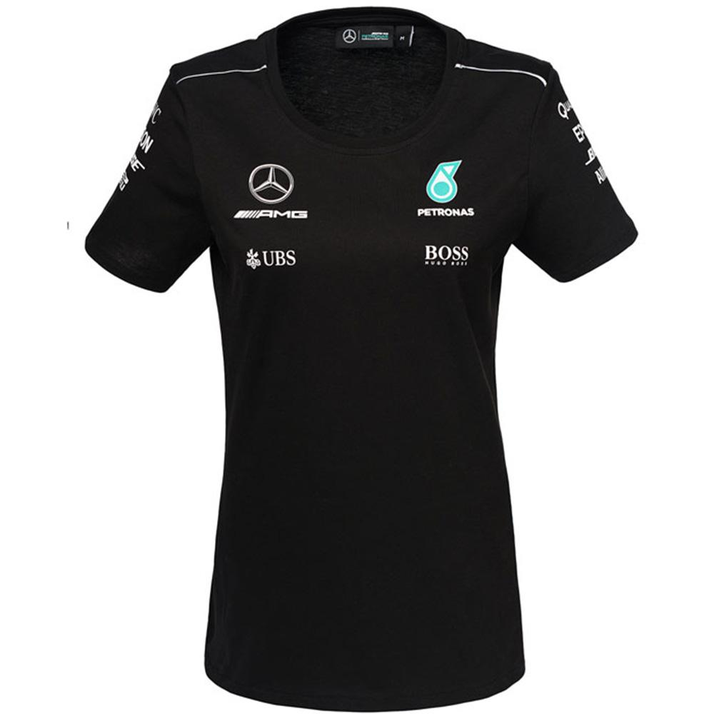 mercedes amg petronas driver t shirt womens 2017. Black Bedroom Furniture Sets. Home Design Ideas