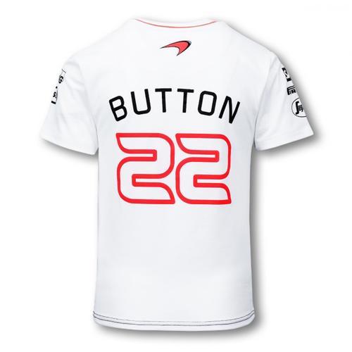 MCLAREN HONDA JENSON BUTTON T-SHIRT KIDS 2016 | Motorstore